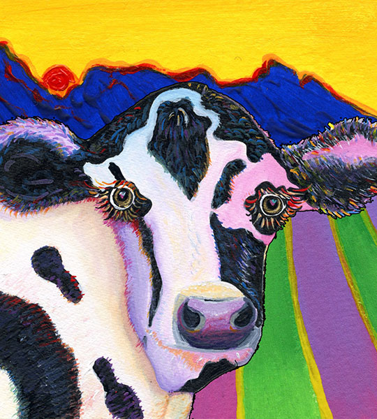 Pretty Cow by Phil and Ana Dynan